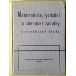 Matematické, fyzikální a chemické tabulky pro odborné školy