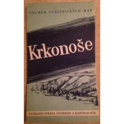 Krkonoše - Soubor turistických map