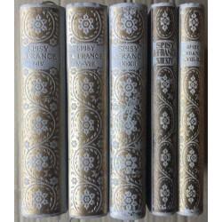 Spisy Anatola France (5 svazků - nekompletní)