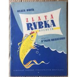 Zlatá rybka - Opereta pre spev a klavír