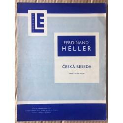 Lidová edice: Česká beseda - pro klavír na dvě ruce