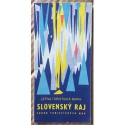 Slovenský raj - Letná turistická mapa