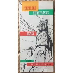 Teplicko - Adršpašské skály: soubor turistických map