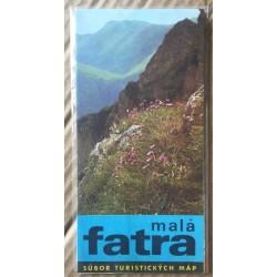 Malá Fatra - súbor turistických máp