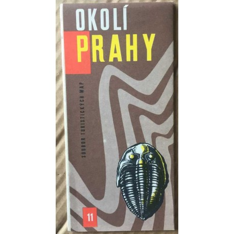 Okolí Prahy - soubor turistických map č. 11