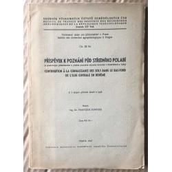 Příspěvek k poznání půd středního Polabí (s podrobným přihlédnutím k půdám pozemků státního hřebčína v Kladrubech n./Lab.)