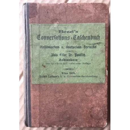 Conversations-Taschenbuch der italienichen u. deutschen Sprache