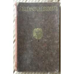 Deutches Einheits: Familien Stammbuch