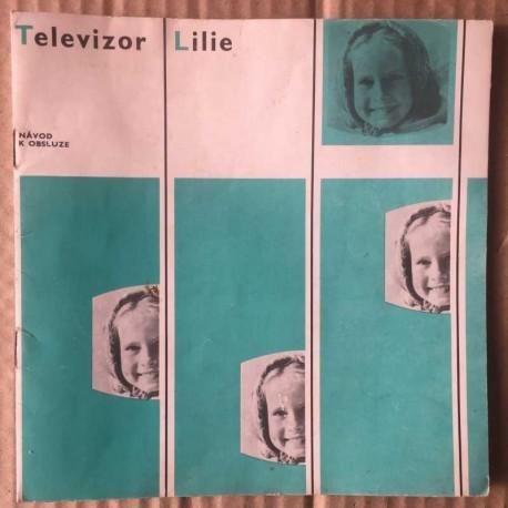 Televizor Lilie - návod k obsluze