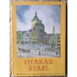 Otakar Štáfl - Čtyřiadvace akvarelů z Havlíčkova Brodu