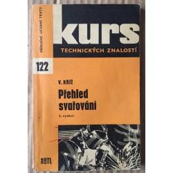 Přehled svařování - Kurs technických znalostí sv.122