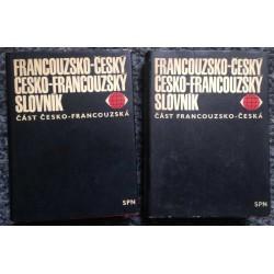 Česko-Francouzský slovník - dvousvazkový