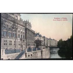 Pozdrav z Prahy - Nové Riegrovo nábřeží